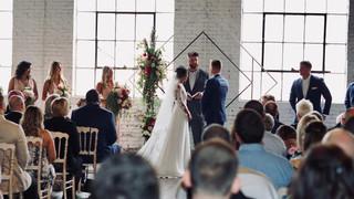 Ceremony at the Brick Ballroom