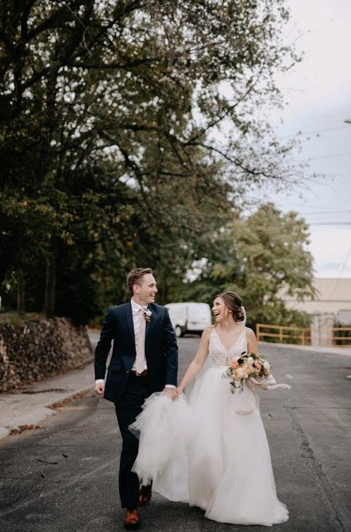 Turner Wedding in Downtown Siloam