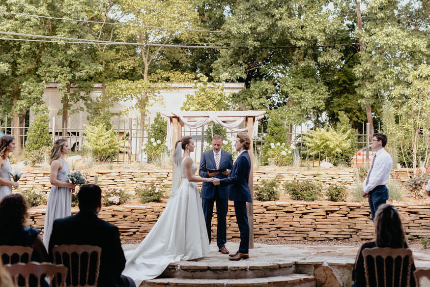Serena & Tyler's Garden Wedding