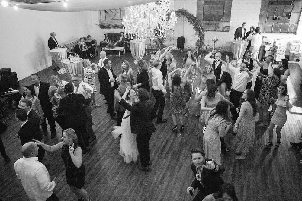 Dancing reception
