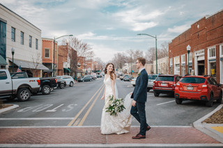 Downtown Siloam Springs wedding