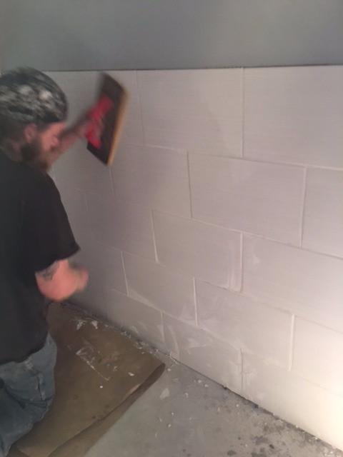 Tiles In the Restrooms