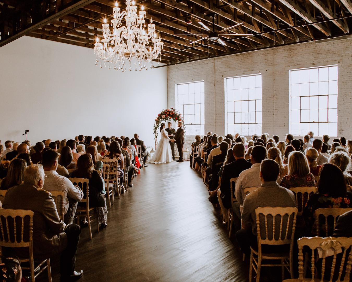 The Brick Ballroom Wedding