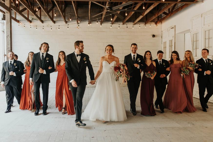 Wedding Party on Veranda