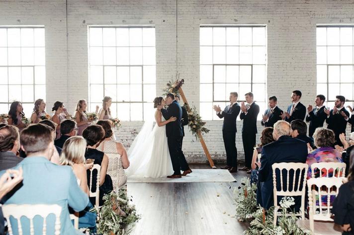 Turner Wedding in The Brick Ballroom