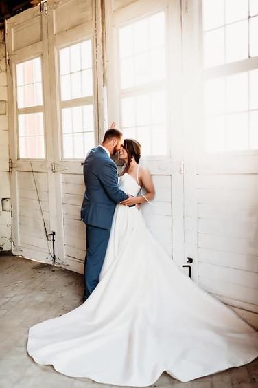 Avery's wedding at the Brick Ballroom