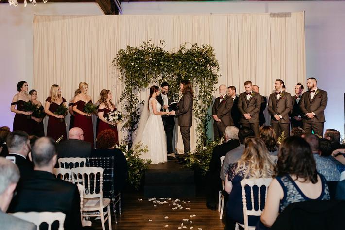 Dysarts wedding the brick ballroom