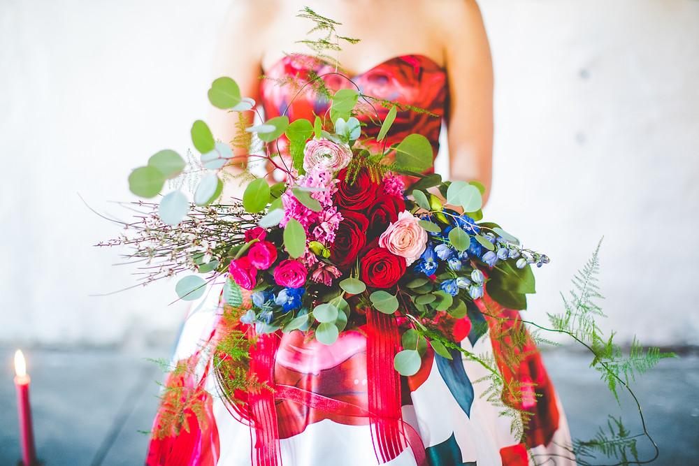 Flower arrangement by Bloom northwest arkansas