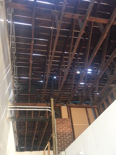 A New Roof, Sprinklers & Wheelchair Ramp