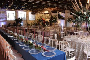 Reception at The Brick Ballroom