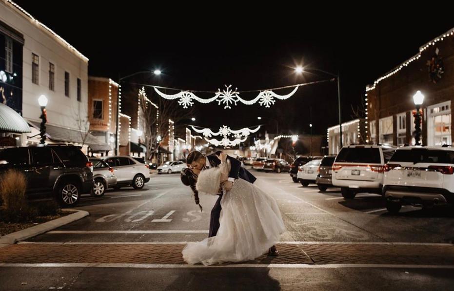 Winter Wedding Downtown