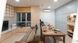 《設計案例》住了十年的家居,重新規劃成日式風格,讓家居成為真正生活的地方