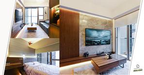 【室內設計作品】296尺的小空間也能用上深木色調,還一點都沒有壓迫感!