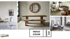 【Indigo Living 全新品牌 Indigo Atelier】 為香港家居帶來更尊貴而獨特的設計美學