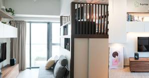 《設計案例》471呎的家居也可以有閣樓式書房!