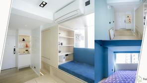 《設計案例》254呎,還有四個大窗台,也能塑造出小清新功能性家居
