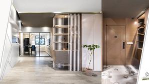 《設計案例》重新更改間隔,為家居帶來大氣的玄關,夢寐以求的衣物間和SPA氛圍的浴室