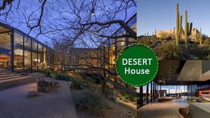 與仙人掌為伍,建於美國索諾蘭沙漠上的房子