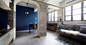《設計案例》70年代舊洋樓中的共享生活空間-少不了的創意和懷舊!