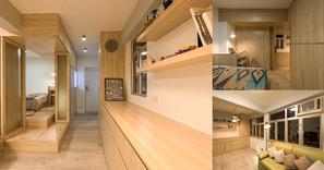 《設計案例》在340尺的單位也可以打造屋中屋