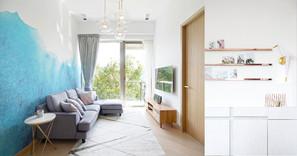 《設計案例》在簡約的家居中也能感受到地中海度假的隨意和放鬆。
