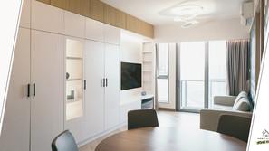 《設計案例》讓收納空間變成家居設計的亮點,一組全高櫃也不會為空間帶來壓迫感!