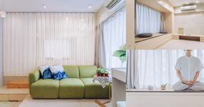 《設計案例》390呎的現代極簡+禪意家居空間,心靈的避風港!