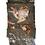 Thumbnail: Cashmere scarf WOOD 140x140cm grey