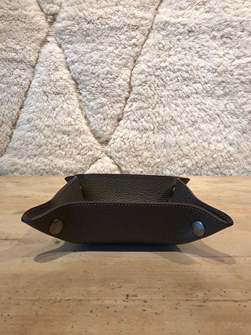 Handmade vide poche leather