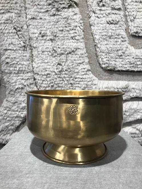 Bowl  round gold