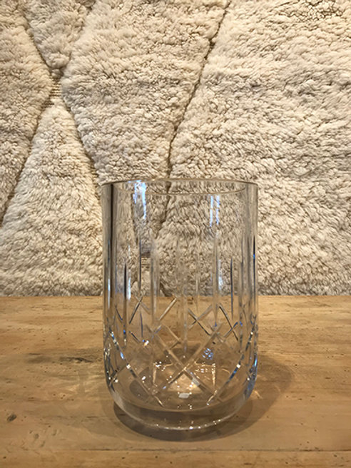 Vase crystal glass