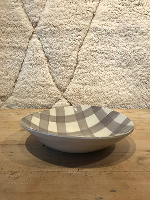 Salad bowl pattern warm grey