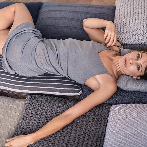 Cashmere dress grey