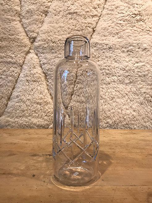 Water bottle crystal