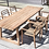 Thumbnail: Table reclamed teak natural grey