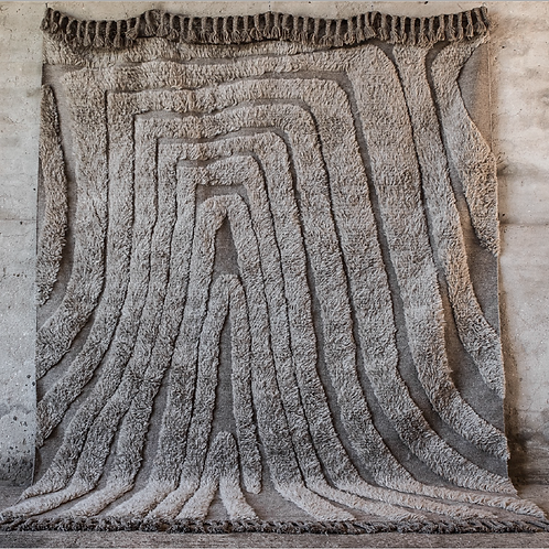 Hand-knotted wool carpet 280x360 cm