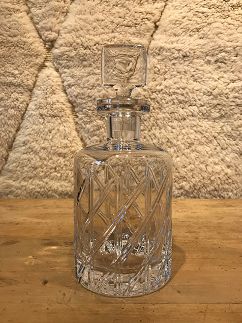Decanter glass round