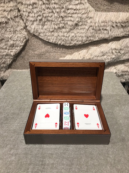 Dice and playcard holder