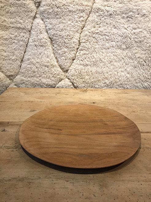 Plate new teak