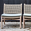 Thumbnail: Lounge chair teak natural grey with PE wicker