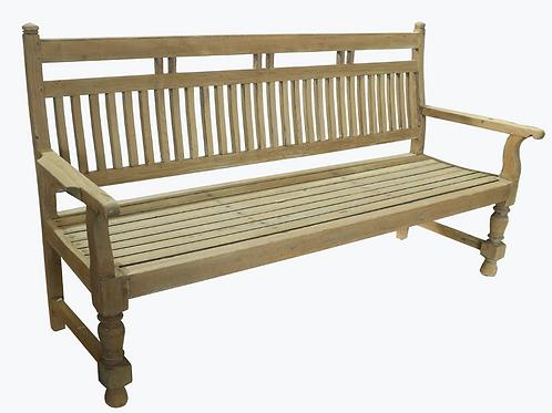Vintage Teak bench 185 cm