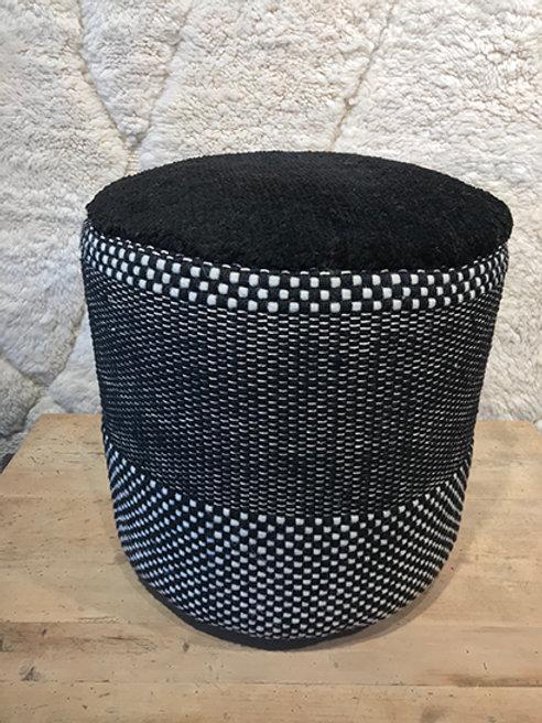 Pouf Persian black