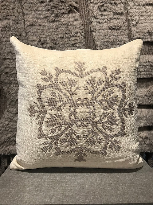 Cushion linen stitched 43x43 cm