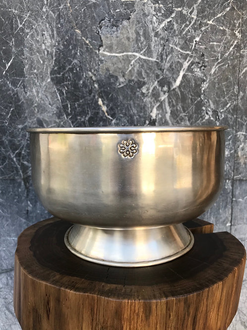 Bowl  round silver