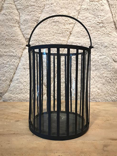 Lantern iron/glass