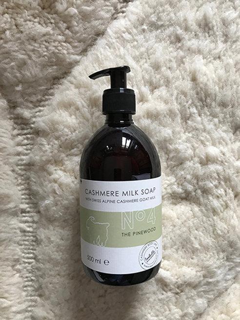 Liquid soap hand/body cashmere milk No 4