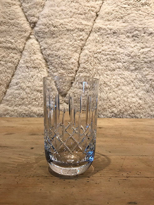 Gin Tonic/Water glass crystal