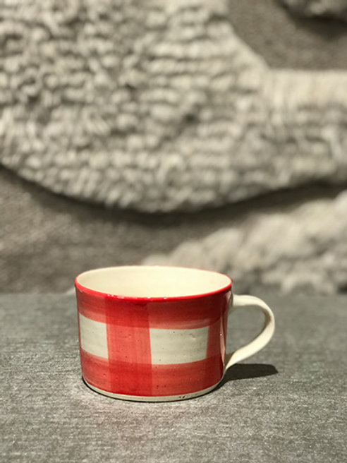 Mug pattern red
