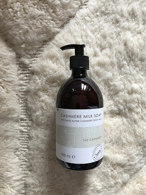 Liquid soap hand/body cashmere milk No 1