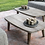 Thumbnail: Coffeetable reclaimed teak natural grey